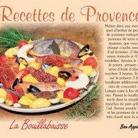 "Cartes ""Les recettes provençales"""