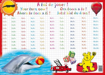 Editions aris tables de multiplication - Matou matheux table de multiplication ...