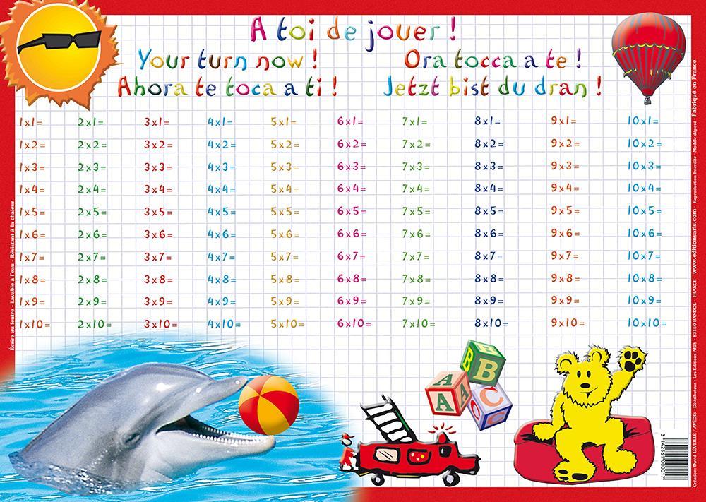 Editions aris tables de multiplication - Logiciel educatif fr math tables addition ...